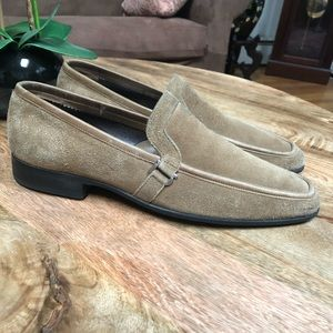 Salvatore Ferragamo slip in loafers sz 9.5